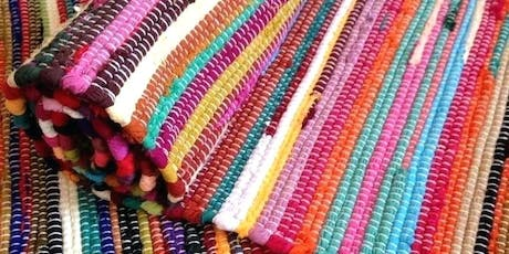 Sustainable Rug Weaving Workshop tickets