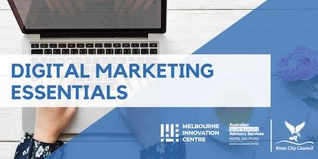 Digital Marketing Essentials - Knox tickets