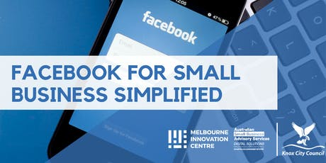 Facebook Simplified for Small Business - Knox tickets