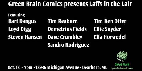 Laffs in the Lair tickets