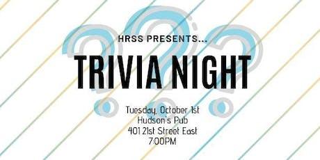 HRSS Trivia Night tickets