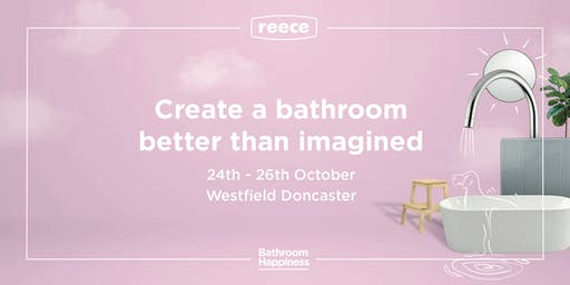Bathroom Masterclass with a Q&A from Jesse & Mel from The Block - Doncaster