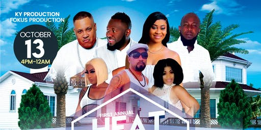 First Annual Heat All White Pool Party