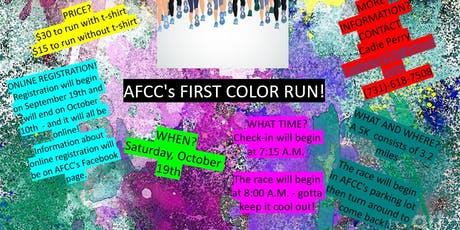 AFCC Color Run tickets