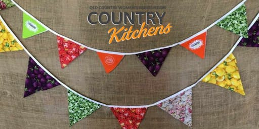 QCWA Country Kitchens Workshop: Bunting