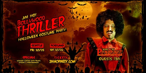 JAI HO! BOLLYWOOD THRILLER Halloween Party