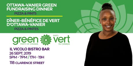 Ottawa-Vanier Green Party Fundraising Dinner tickets