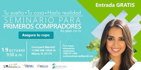 Seminario para primeros compradores Miami - First time home buyers tickets