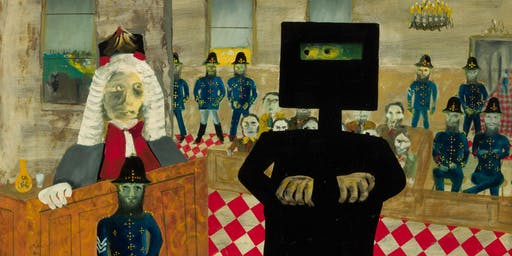 Curator Talk: Sidney Nolan's Ned Kelly series