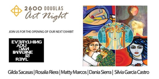 Coral Gables Gallery Night - 2600 Douglas - October 2019
