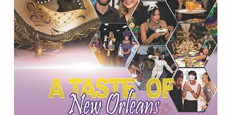 """A Taste of New Orleans"" Masquerade Dinner tickets"