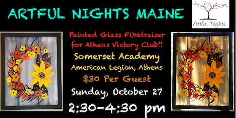 Painting on Glass FUNdraiser for Athens Victory Club! tickets