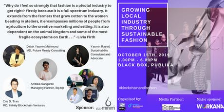 Growing Local Industry Through Sustainable Fashion tickets
