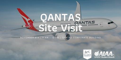 AIAA UNSW Qantas Site Tour