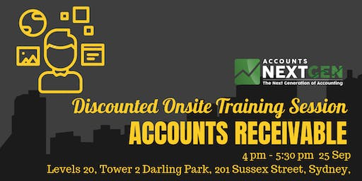 Accounts Receivable Discounted Trial Session (Sydney 4pm-5:30pm)