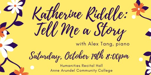 Katherine Riddle: Tell Me a Story
