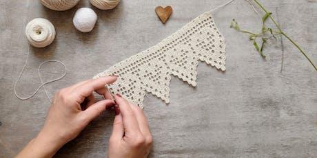 Learn Filet Crochet in Jervis Bay tickets