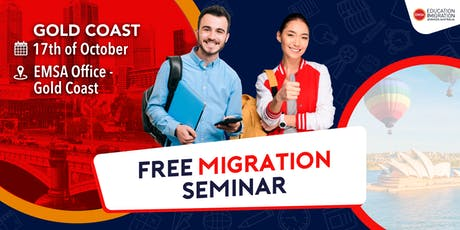 Free Migration Seminar Gold Coast (October 2019) tickets
