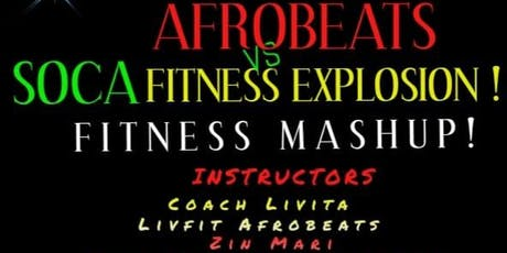 Afrobeats vs Soca Fitness Explosion tickets