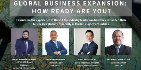 Global Business Expansion: How Ready Are You? tickets