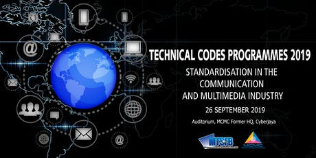 TECHNICAL CODES PROGRAMME 2019 tickets