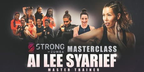 Strong by Zumba Class with Lead Master Trainer Ai Lee Syarief tickets