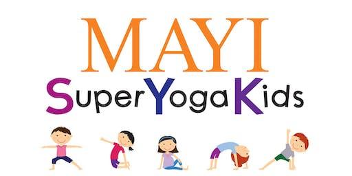 FREE Super Yoga Kids Class