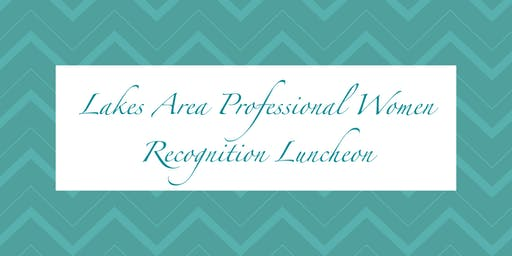 LAPW - 2019 Recognition Luncheon