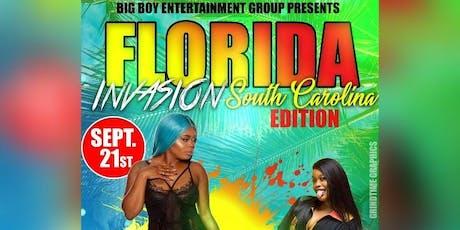 Big Boy Entertainment Group Present: A Florida Invasion SC Edition  tickets