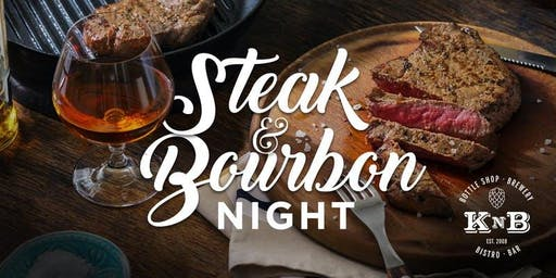 Steak & Bourbon Night With Head Distiller & Co Founder Andy of Belle Meade