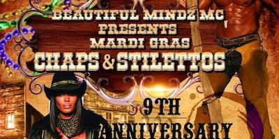 BEAUTIFUL MINDZ MC 9TH YEAR ANNIVERSARY WEEKEND - CHAPS & STILETTOS