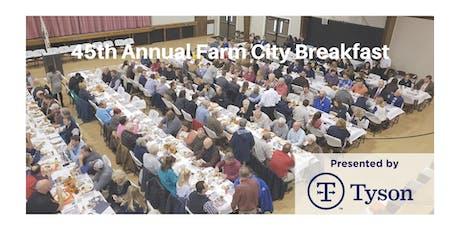 45th Annual Farm City Breakfast tickets