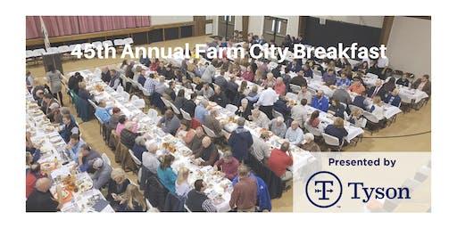45th Annual Farm City Breakfast