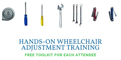Hands-On Wheelchair Adjustment Training ~ Morning in Hallam