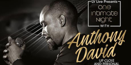 Anthony David In Concert @ 172 Live Music [RIO All Suites Hotel & Casino] tickets