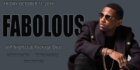 FABOLOUS - Friday - 10-11-2019 tickets