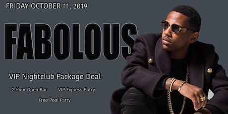 FABOLOUS - Friday - 10-11-2019 tickets