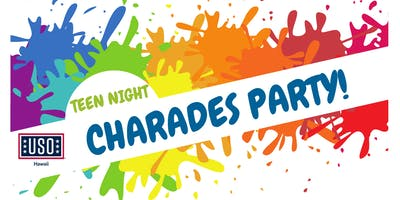 Teens Night Charades Party