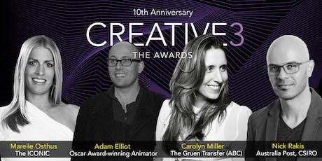 Creative3, The Awards tickets