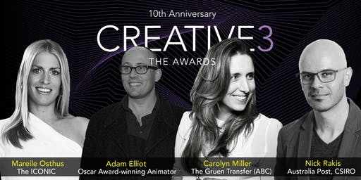 Creative3, The Awards