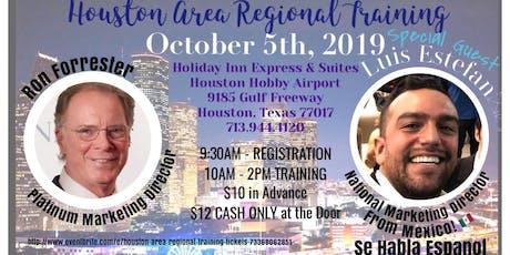 Houston Area Regional Training tickets
