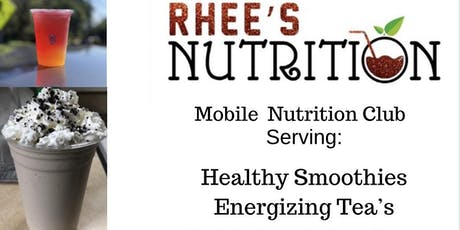 Sip and Learn with Rhee's Nutrition tickets