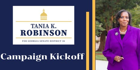 Tania K. Robinson for Georgia Campaign Kickoff tickets