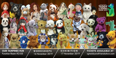 Singapore Teddy & Friends Show 2019 Admission Ticket tickets