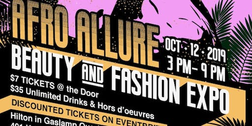 THE AFRO ALLURE BEAUTY& FASHION EXPO