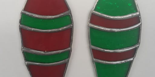 Stained Glass Christmas Ornaments Workshop