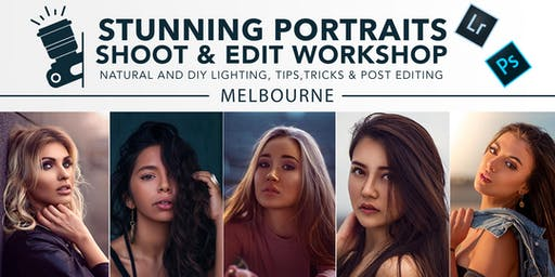 Stunning Portraits Shoot & Edit Creative Workshop in Melbourne!