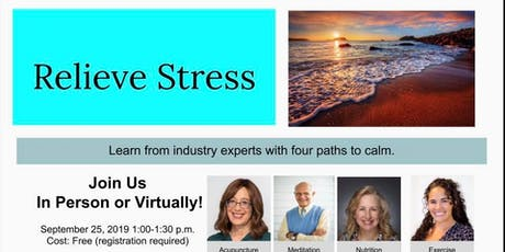 Relieve Stress tickets