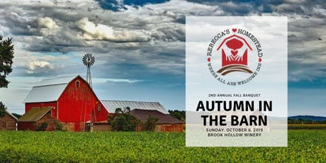 Autumn in the Barn - 2nd Annual Fall Banquet tickets