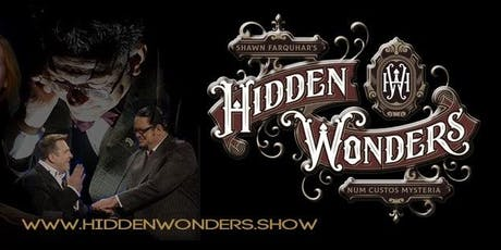 Hidden Wonders the Speakeasy Magic Experience tickets